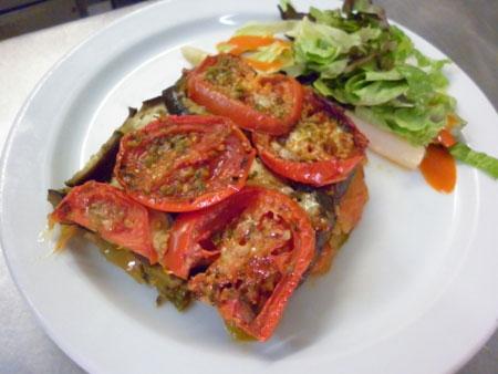 Toumbet con tomate