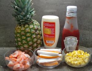 Ingredientes Piña marisco