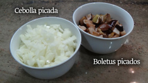 Ingredientes salsa boletus