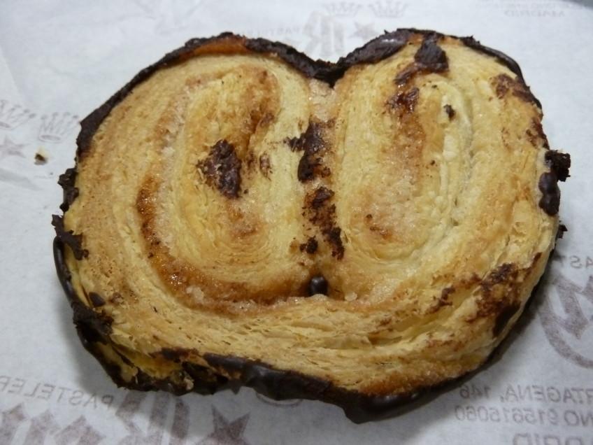 Palmera de chocolate de Reyes