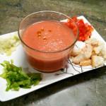 Gazpacho en vaso