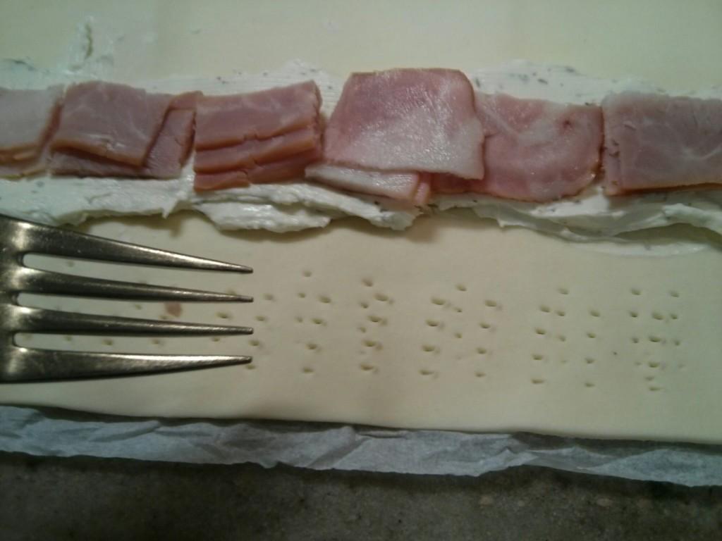 Saladitos de bacon y queso