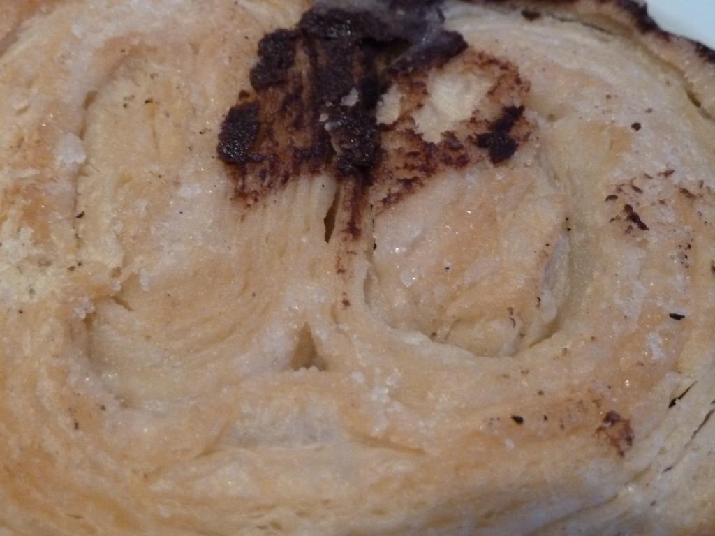Hojaldre de la Palmera de chocolate de Formentor