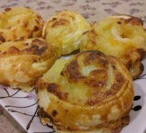 Caracolas cuatro quesos