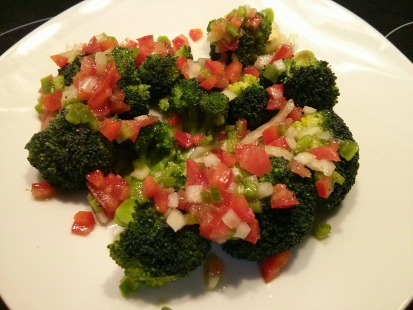 El Brócoli a la vinagreta