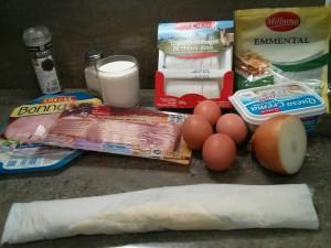 La Quiche de bacon, jamón y queso
