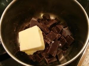 Galletas doble chocolate y nueces